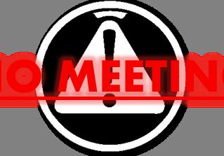No Meeting April 2, 2015