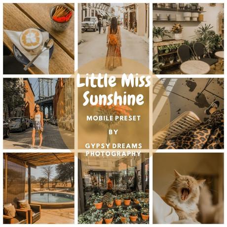 Little Miss Sunshin Preset
