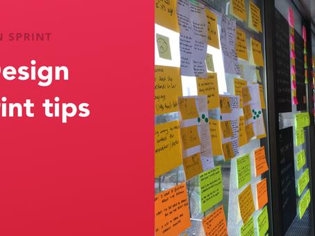 7 tips to run better Design Sprints