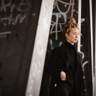 Mit Pia im Oberhafen / Portraitshooting Hamburg & ein paar Gedanken zur Fotografie