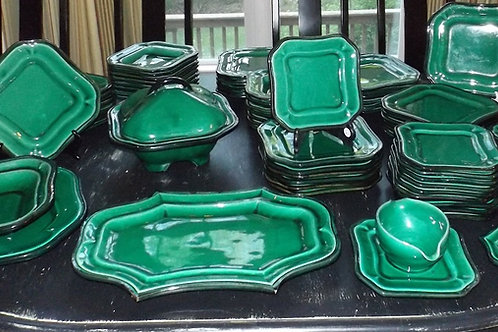 French Majolica Dinner Set (call for price)