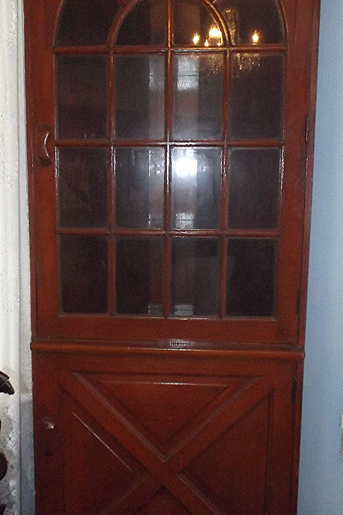 Antique Corner Cabinet (Call for Price)