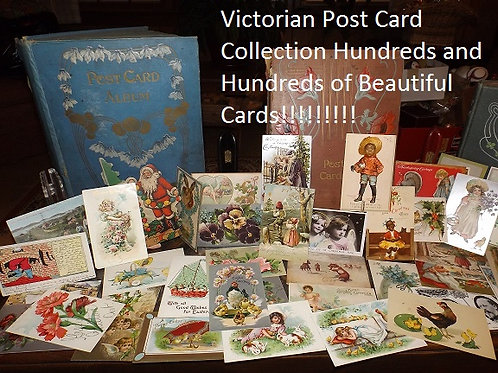Many Many Wonderful Victorian Post Cards