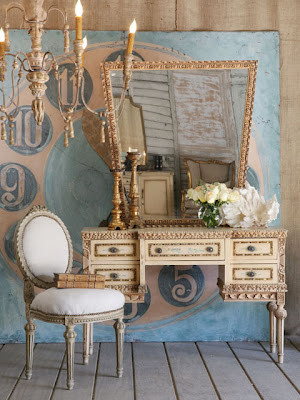 French with  Shabby