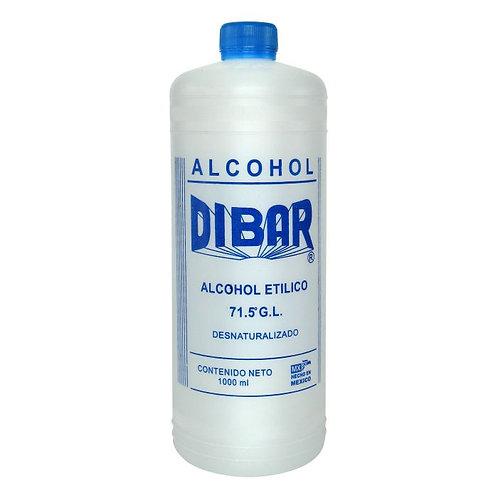 ALCOHOL ETILICO DE 1 LT AL 70% DIBAR