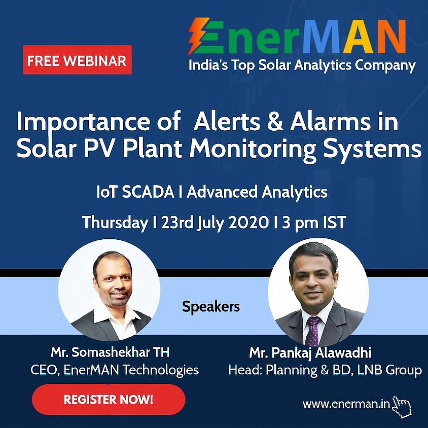 Importance of Alerts & Alarms in Solar PV Plant Monitoring Systems
