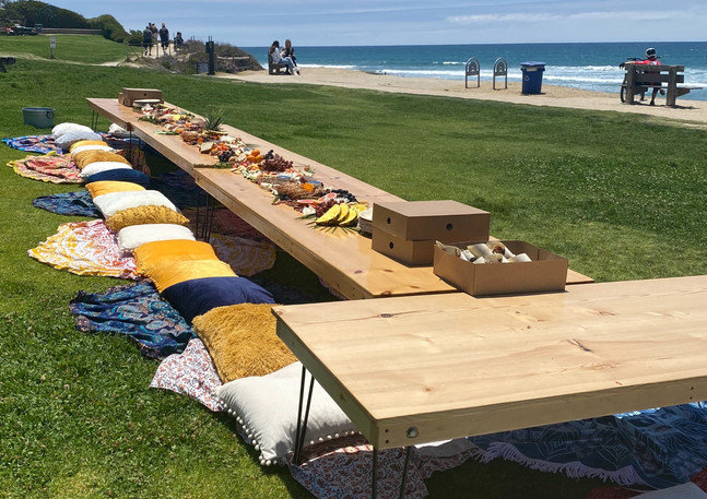 Charcuterie by the sea