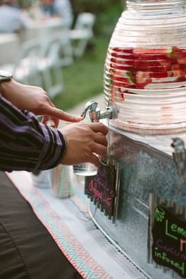 Infused water stations