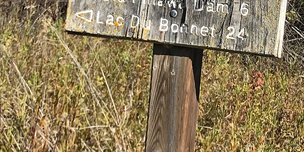 Pinawa to Old PInawa Dam Great Trail Bike