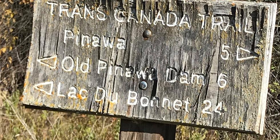 May 23rd Pinawa to Old Pinawa Great Trail Bike Tour