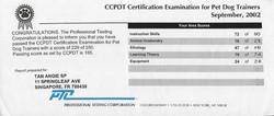 CCPDT results
