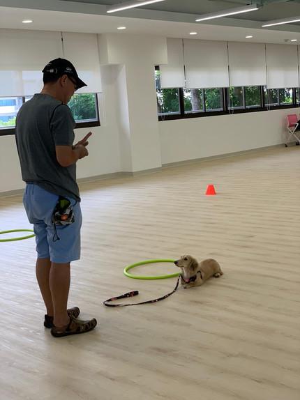 Group class indoor venue