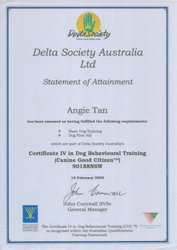 Delta Society Australia