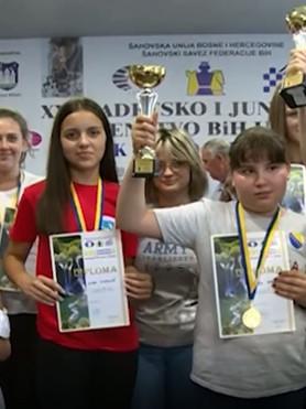 Prvenstvo Bosne i Hercegovine za djecu i mlade u organizaciji ŠK Bihać i ŠS Unsko-sanskog kantona
