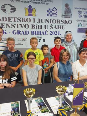 BIHAĆ 2021 - Predstavljanje i rezultati pobjednika iz Šahovskog Saveza Kantona Sarajevo