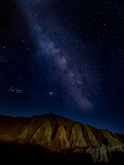 Red Rock Milky Way