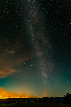 Milky Way Aflame