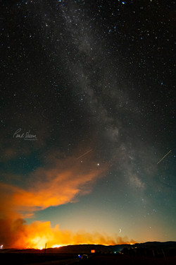 Milky Way Aflame 2