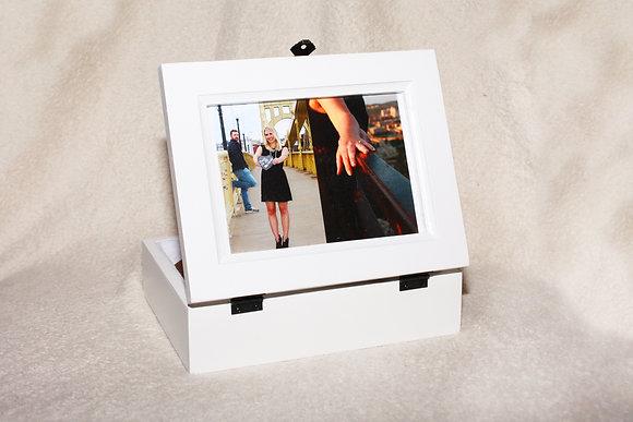 Custom Carved Photo Box
