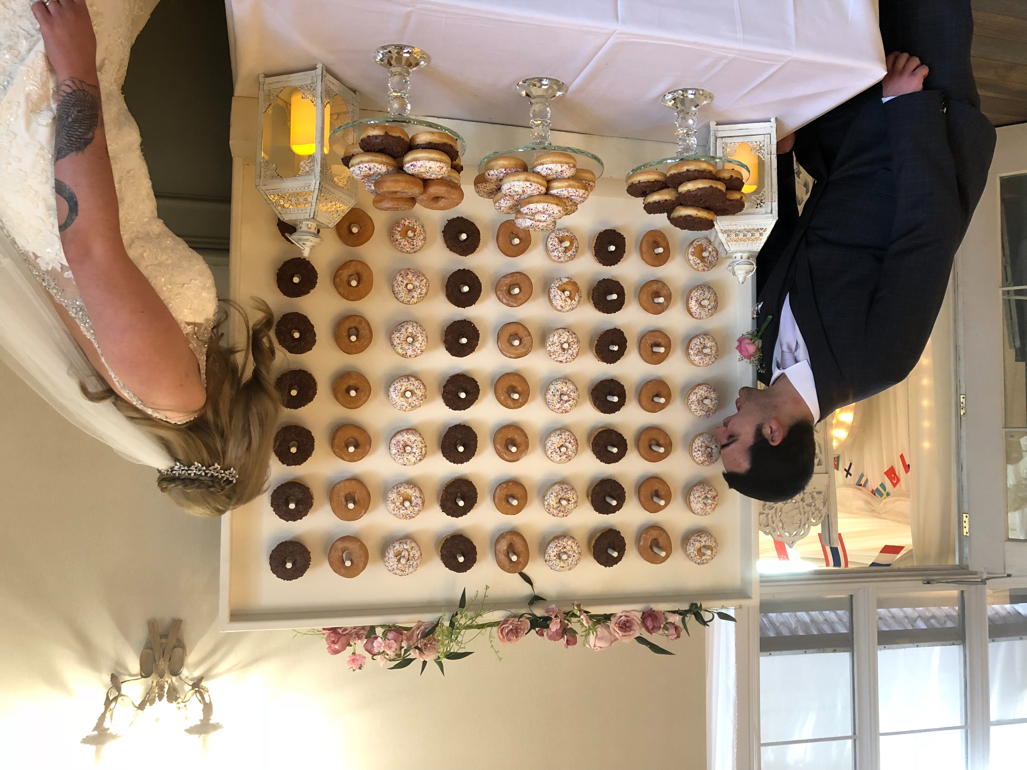 Event Hire Wales - Doughnut Wall