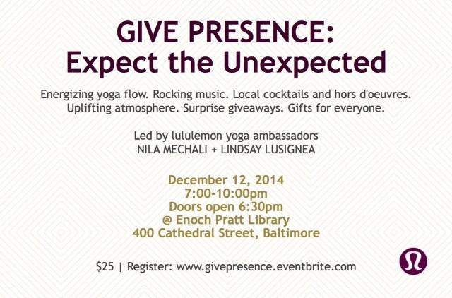 Lululemon yoga flow with Nila Mechali & Lindsay Lusignea