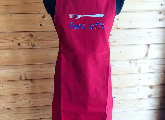Fork Off! Adults Apron