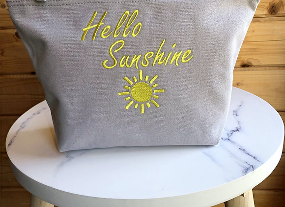 Hello Sunshine Accessory Bag