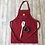 Thumbnail: Star Baker Apron With Christmas Cookie Cutter & Spatula