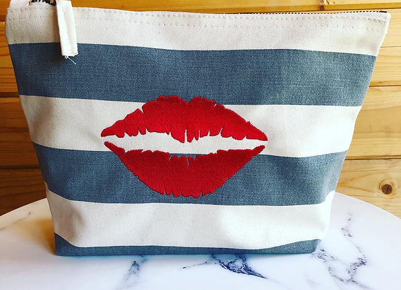 Red Lips Accessory Bag
