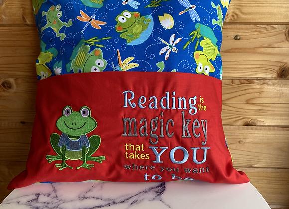 Frog Story Cushion