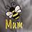 Thumbnail: Mum Grey Apron With Bee