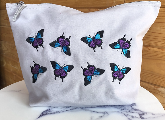 Butterfly Large Make-Up Bag
