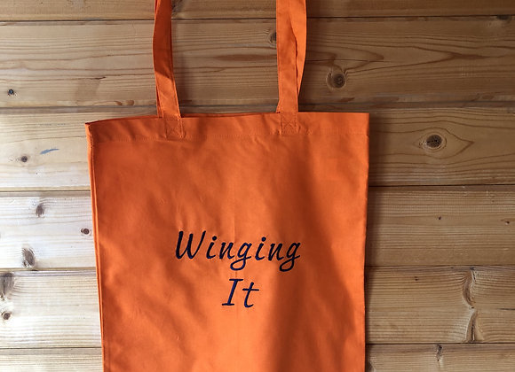 """Winging it"" Tote Bag"