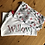 Thumbnail: Children's Personalised Grey And Red Reindeer Christmas Pyjamas