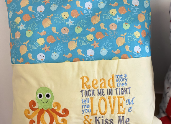 Under The Sea Story Cushion