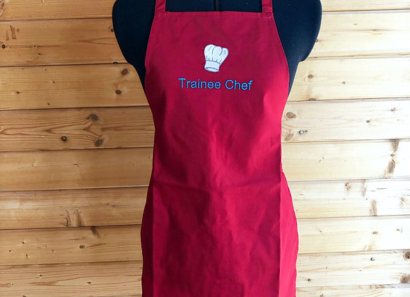 Trainee Chef Children's Apron With Spatula And Cookie Cutter