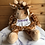 Thumbnail: Personalised Giraffe Hot Water Bottle Cover Including Hot Water Bottle