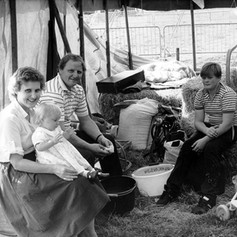 A farming family at the show