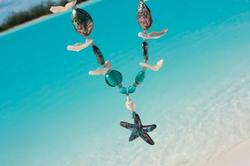 Abalone pendant necklace