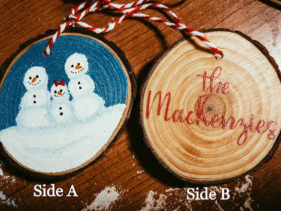 Custom Design Ornament | Read  Me