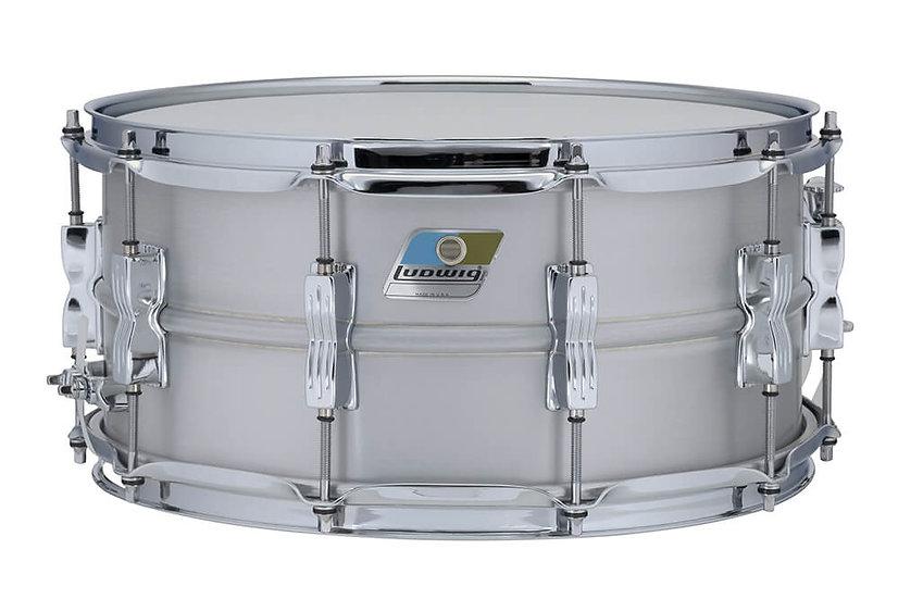"""Ludwig 14"""" x 6.5"""" Aluminium Acrolite Snare Drum"""