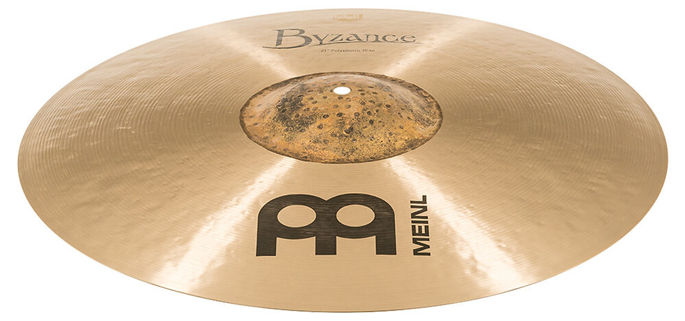 "Meinl 21"" Byzance Traditional Polyphonic Ride Cymbal"