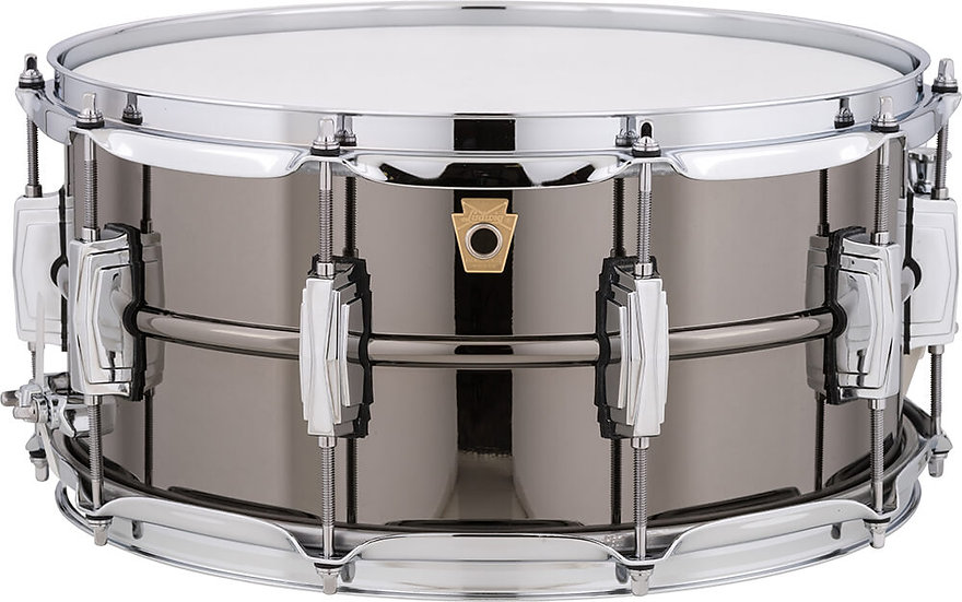 """Ludwig 14"""" x 6.5"""" Black Beauty Snare Drum"""