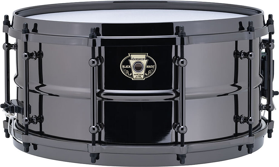 "Ludwig LW6514 14"" x 6.5"" Black Magic Snare Drum"