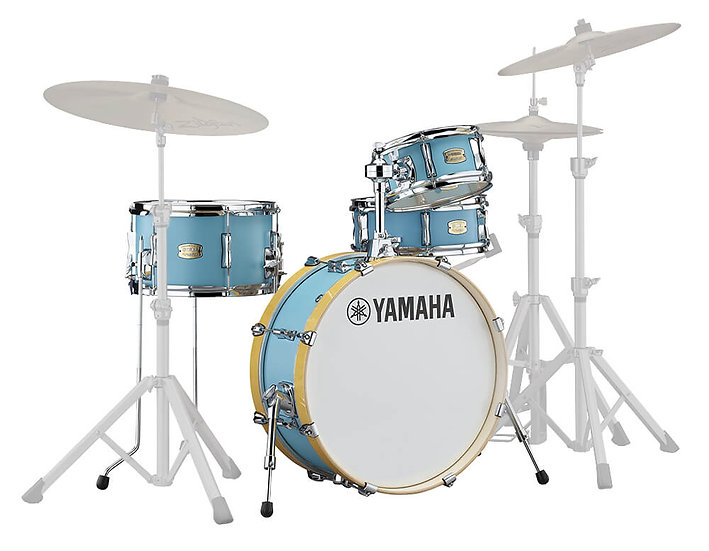 """Yamaha Stage Custom Hip 20"""" 4pc Shell Pack, Matte Surf Green"""