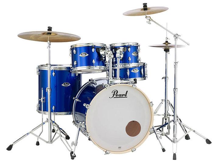 "Pearl Export EXX 22"" Drum Kit - High Voltage Blue"