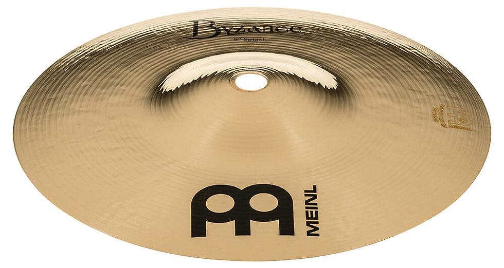 "Meinl 8"" Byzance Brilliant Splash Cymbal"