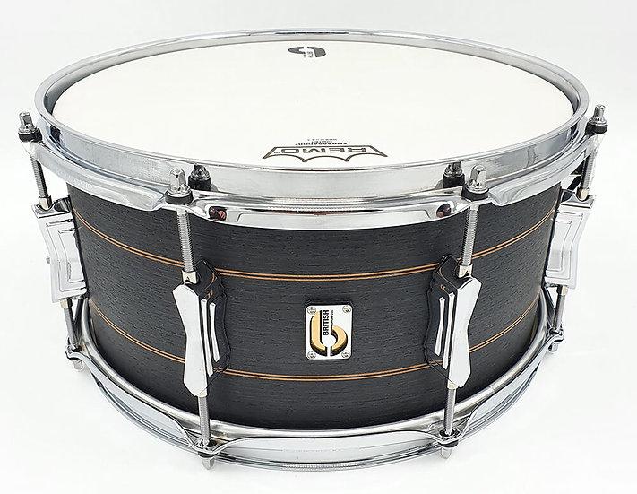 "British Drum Company Merlin 13"" x 6.5"" Snare Drum"