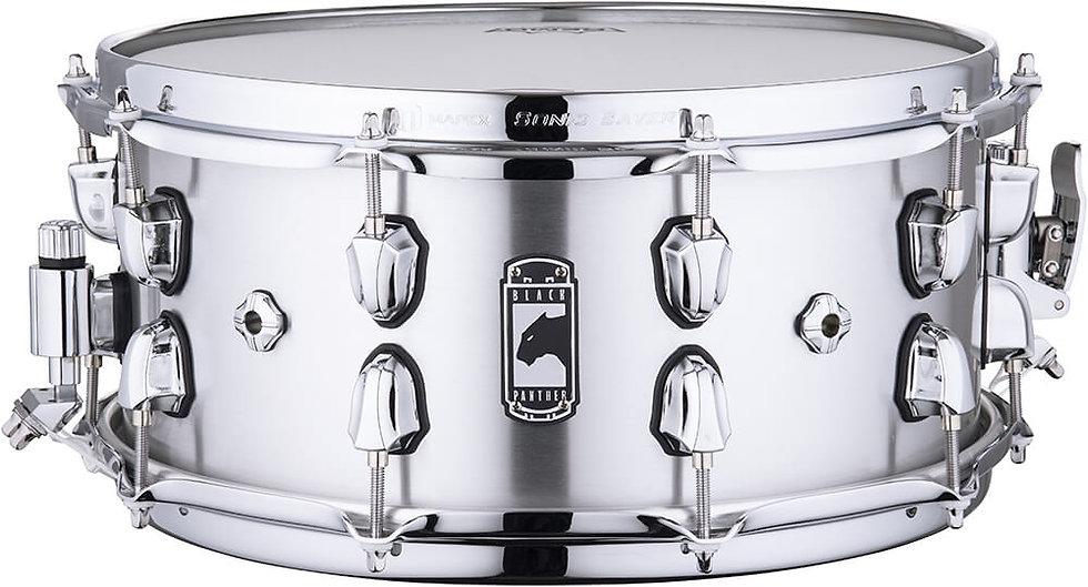 """Mapex Black Panther ATOMIZER 14"""" x 6"""" Aluminium Snare Drum"""