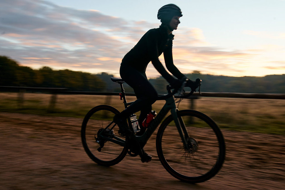 Sunrise ride on the Specialized Turbo Creo SL Comp Carbon EVO